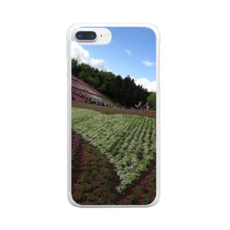 秩父の芝桜 Clear smartphone cases