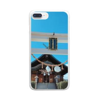 ホノルル出雲大社 Clear smartphone cases
