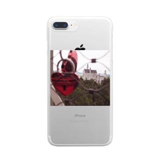 ノイシュバンシュタイン城 Clear smartphone cases