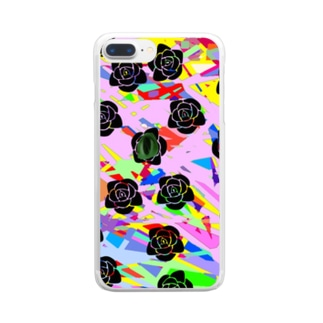 多角的擁護 Clear smartphone cases