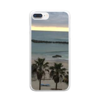 海大好きグッズ Clear smartphone cases