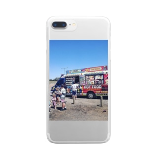 YumskyのAustralian life Clear smartphone cases