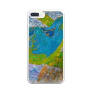 昆虫採集 Clear smartphone cases