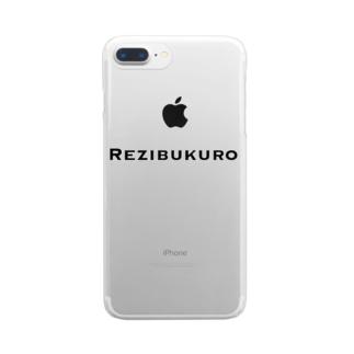Rezibukuro Clear smartphone cases