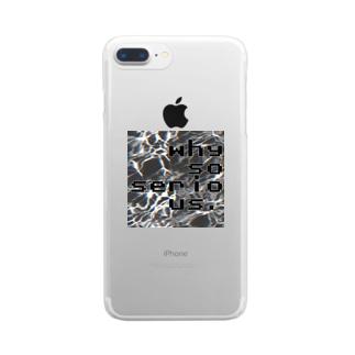 真剣_s Clear smartphone cases