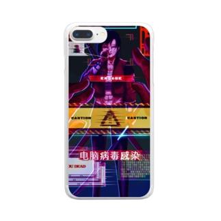 警察 Clear smartphone cases