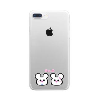 ずっといっしょ♥ Clear smartphone cases