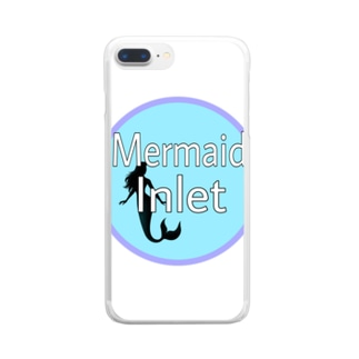 Mermaid Inlet Clear smartphone cases