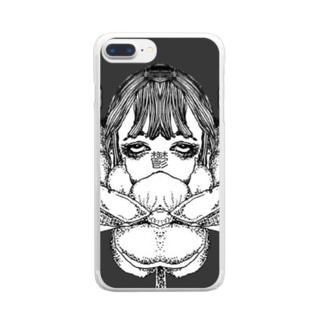 ウツノハナ Clear smartphone cases