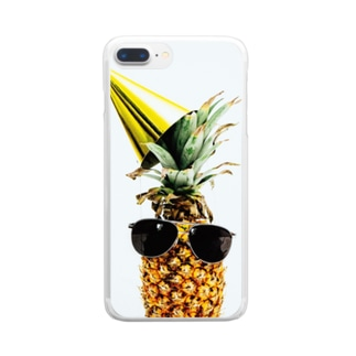 pine Clear smartphone cases