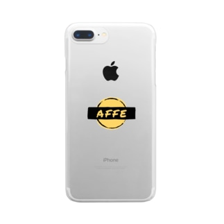 AFFE ROCK Clear smartphone cases