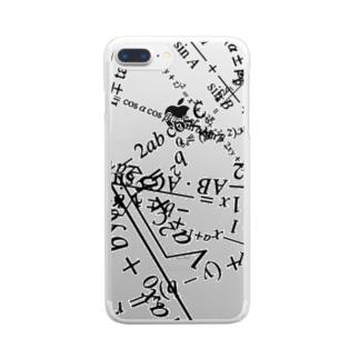 高校数学公式 Clear smartphone cases