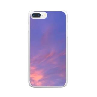 君の隣で Clear smartphone cases