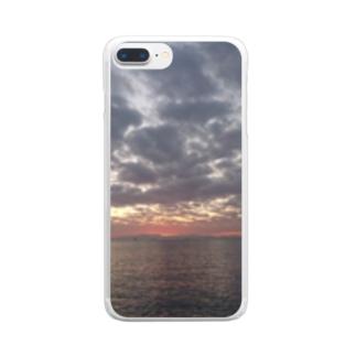 宵 Clear smartphone cases