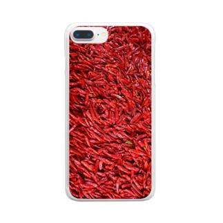 辣椒 Clear smartphone cases