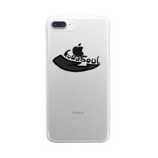 koinosukeのKuwasoul【クワソウル】 Clear smartphone cases