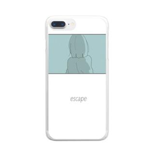 escape Clear smartphone cases