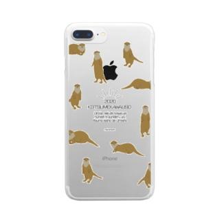 【コツメカワウソ】2020 Clear smartphone cases