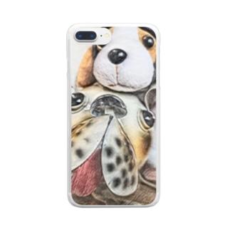 イヌイヌ Clear smartphone cases