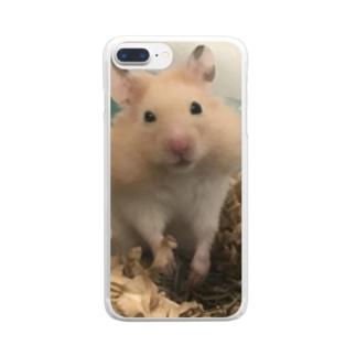 ネリネの眼差し Clear smartphone cases