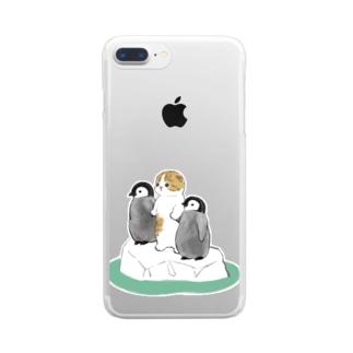 南の島へ Clear smartphone cases