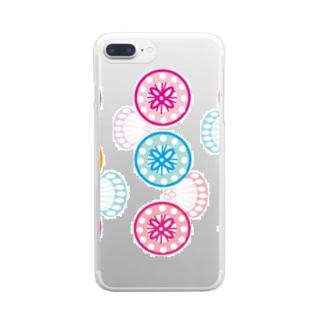 サガリバナ Clear smartphone cases