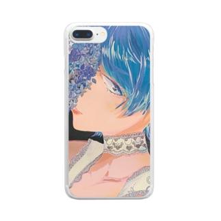 花嫁ちゃん Clear smartphone cases