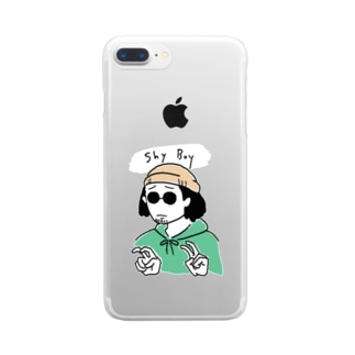 shy boy グッズ Clear smartphone cases