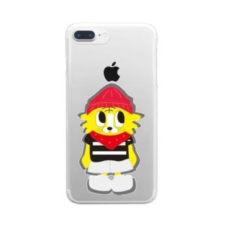 Iii.storeのTappyz ─たいぞー─ Clear smartphone cases