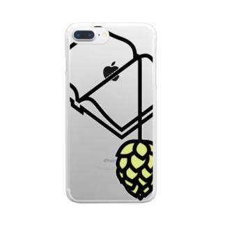BREWBOOKSスマホケース Clear smartphone cases