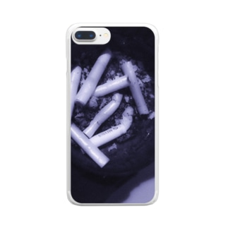 わたしとあなたの境界 Clear smartphone cases