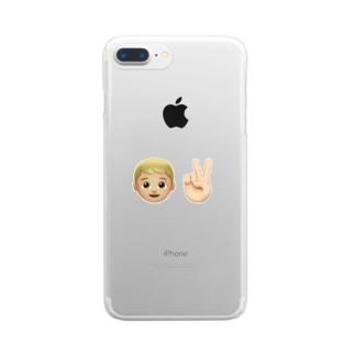 慎 Clear smartphone cases