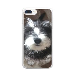 桃太郎 Clear smartphone cases
