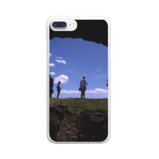 明るい方へ Clear smartphone cases