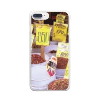 ドッグフードだけどね。 Clear smartphone cases