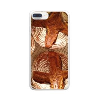 ルナ・ジェナ カンパーニュ Clear smartphone cases