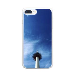 京都タワー Clear smartphone cases