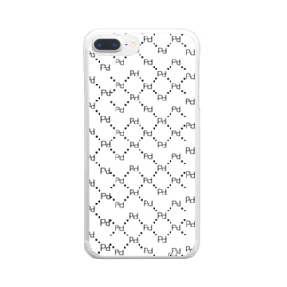 PPジャガード Clear smartphone cases