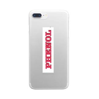フェノール Clear smartphone cases