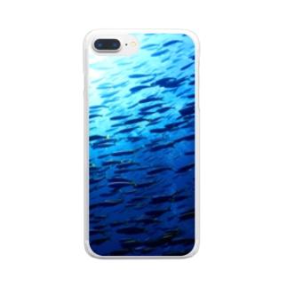 2月のタカベ Clear smartphone cases