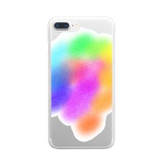 シュワ〜〜〜!! Clear smartphone cases