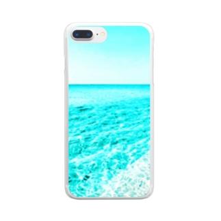 台南の海 Clear smartphone cases