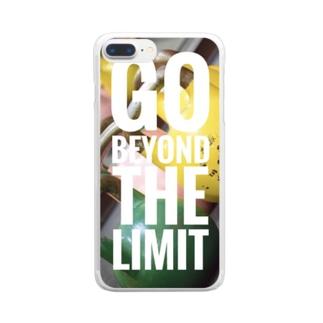 ゴービヨンドザリミット Clear smartphone cases