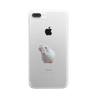 おしゃれこはちゃん Clear smartphone cases