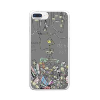 denki Vol.1 Clear smartphone cases