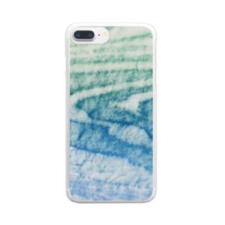 水面Ⅴ Clear smartphone cases