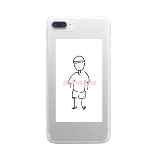 夏! Clear smartphone cases
