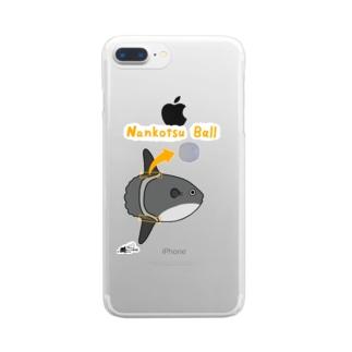 マンボウの軟骨ボール Clear smartphone cases
