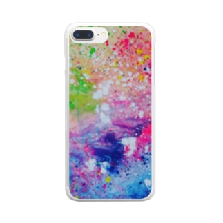 rainbow。 Clear smartphone cases