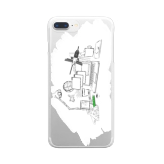 The constantly changing measure Clear smartphone cases